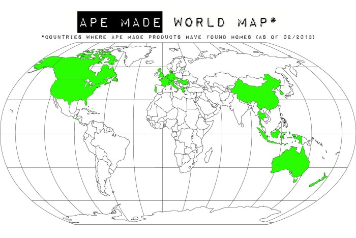 Ape Made World Map
