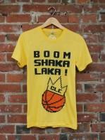 'Boom Shakalaka' on Yellow Gold Unisex TriBlend Tee