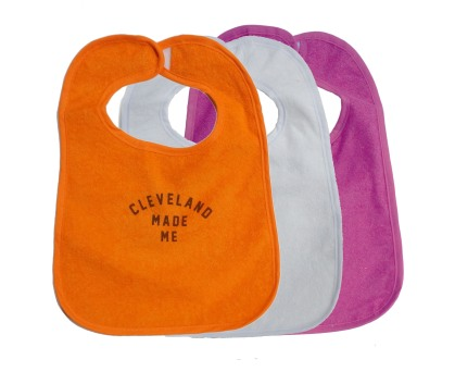 'Cleveland Made Me' Bibs (Multiple)