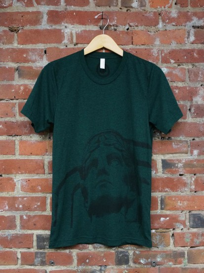 'Guardian' on Emerald TriBlend Unisex Tee