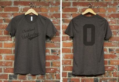 'Underdogs' on Brown Tri-Blend Unisex Tee (Both)