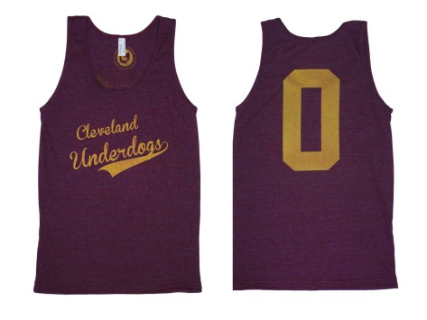 'Underdogs' on Cranberry Unisex American Apparel Tank (BOTH)