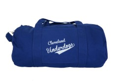 'Underdogs' Royal Duffel Bag (White Background)