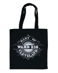 'Ward 216' on Black Tote