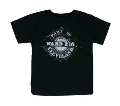 'Ward 216' on Black Youth and Toddler Tee