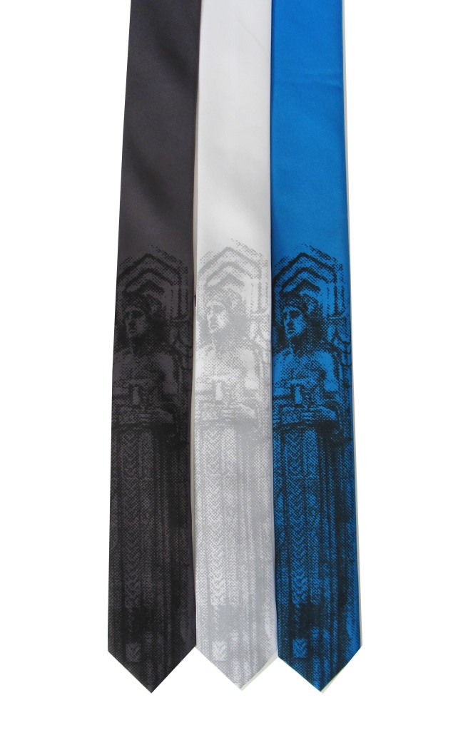 'Guardian' on Multiple Skinny Neckties