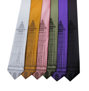 'Terminal Tower' on Multiple Neckties