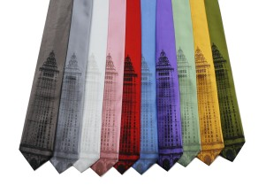 'Terminal Tower' Wide Neckties (all multiples)