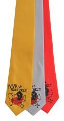 'Viva La Rust Belt!' on Multiple Neckties (Gold Bar, Silver, Coral Red)