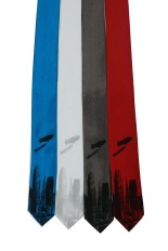 'World Is Yours' Skinny Neckties (Multiples)