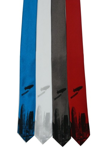'World Is Yours' Skinny Neckties (Multiples)