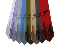 'World Is Yours' Wide Neckties (Multiples)