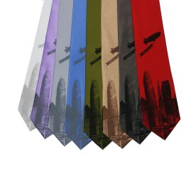 'World Is Yours' Wide Neckties (Multiples)