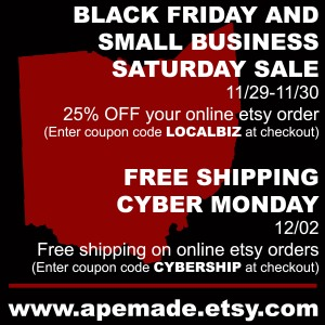 2013 Black Friday, Small Biz, Cyber Monday