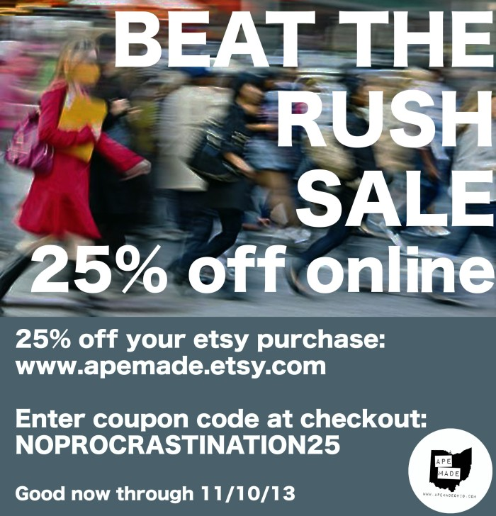 Beat The Rush Sale