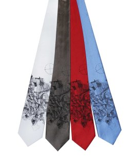 'Pittsburgh 1940 Map' on Mulitple Neckties