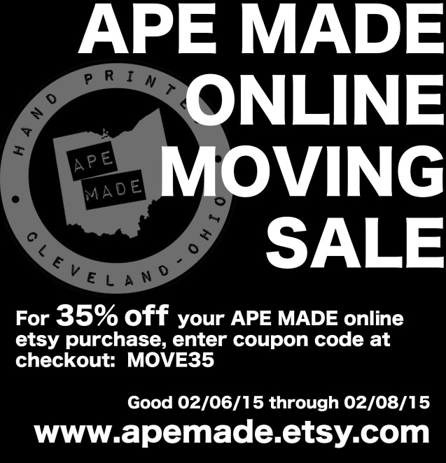 MOVING SALE 2015