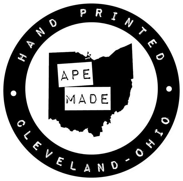 ape made seal logo (reverse)
