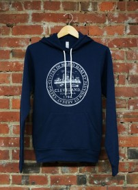 'City Seal' on Navy Pullover Hoodie