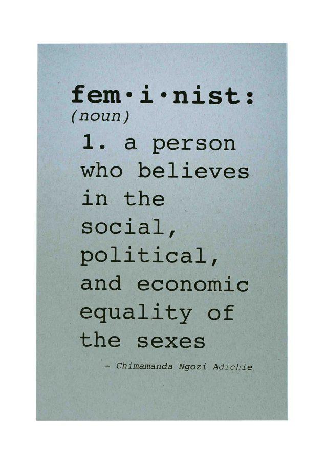 feminist-womens-march-poster-on-kraft-tone-packing-chip-kraft-12-5x19