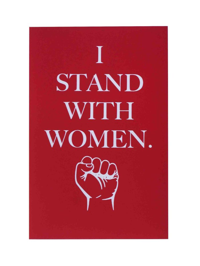 i-stand-with-women-womens-march-poster-on-construction-electric-red-12-5x19