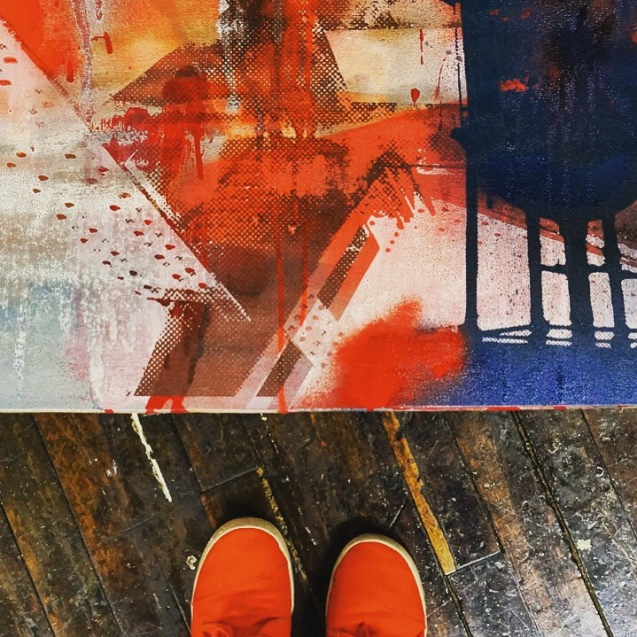 Bialosky Commission (Original, Feet Detail)