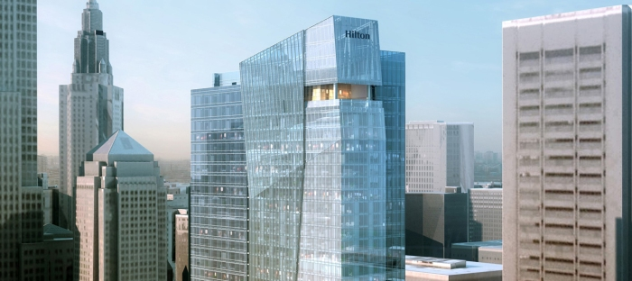 Hilton Cleveland Downtown -Rendering