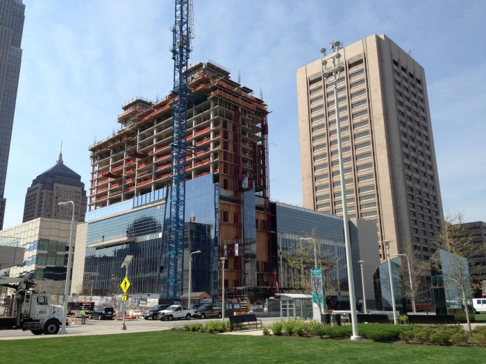Hilton Cleveland Downtown - Under Construction