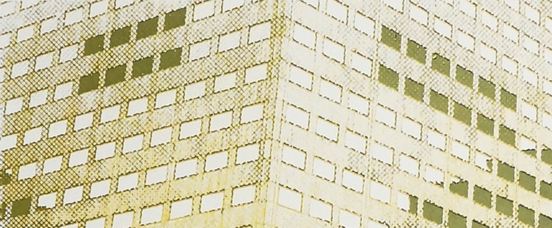 'Hilton Commission (Facade Windows), Screen Print, 2016