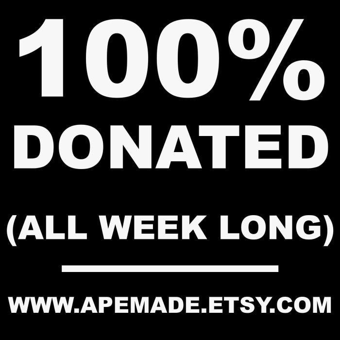 100% Donation Week