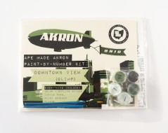 Akron Paint By Number Kit (Packaged)
