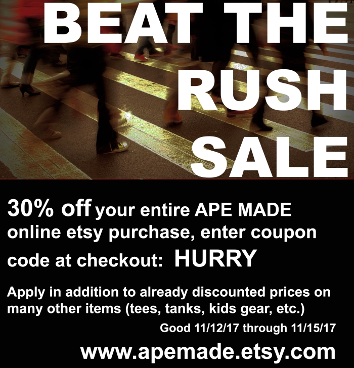 Beat The Rush Sale 2017