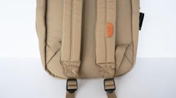 Ohio Khaki Bookbag (Strap Detail)