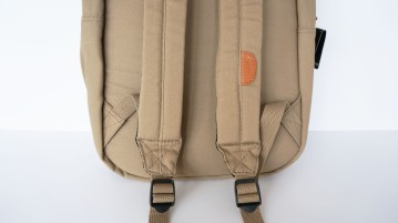 Ohio Khaki Bookbag (Strap Detail)