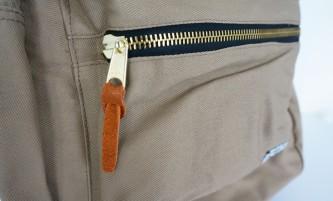 Ohio Khaki Bookbag (Zipper Detail)