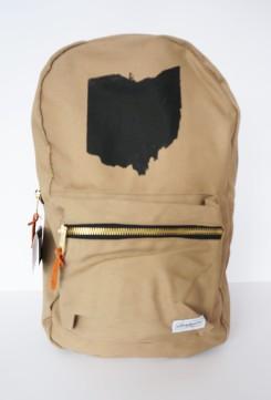 Ohio Khaki Bookbag