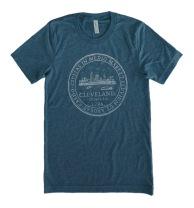 'City Seal' Denim Unisex Tee