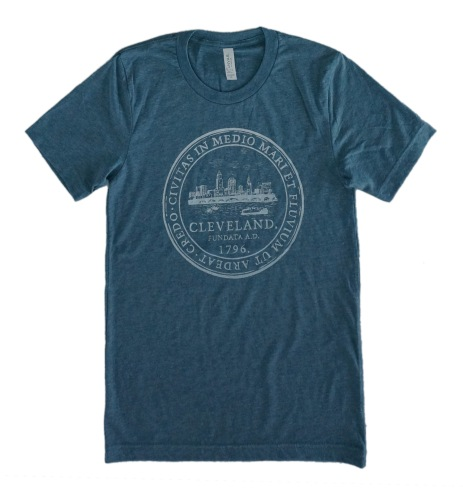 'City Seal' Denim Unisex Tee