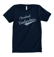 'Underdogs' Solid Navy Unisex Tee