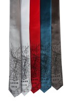 'Akron Map' Skinny Neckties (All)