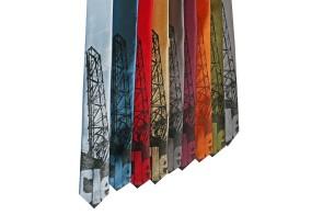 'Bridges' Skinny Neckties (All) 2
