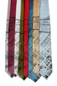 'Downtown Map' Standard Neckties (All) 2