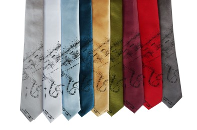 'Lake Erie' Skinny Neckties (All) 2