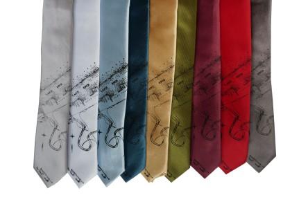 'Lake Erie' Skinny Neckties (All)