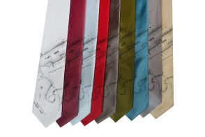 'Lake Erie' Standard Neckties (All)