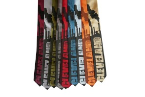 'Smokestacks' Skinny Neckties (All) 2