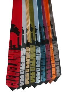 'Smokestacks' Standard Neckties (All)