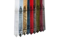 'Terminal Tower' Skinny Neckties (All)