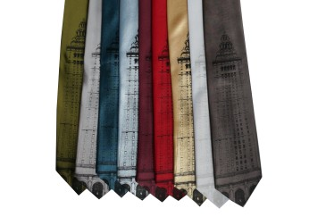'Terminal Tower' Standard Neckties (All)