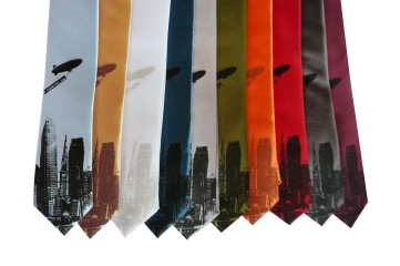 'World Is Yours' Skinny Neckties (All)